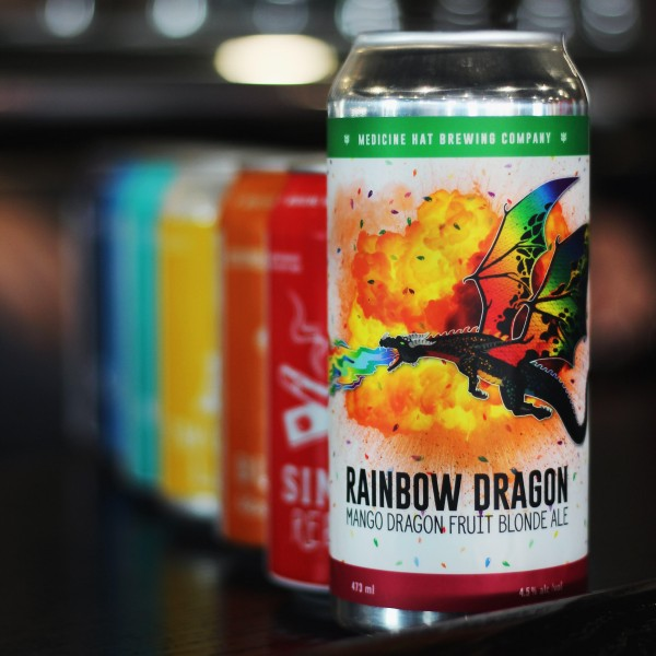 Medicine Hat Brewing Company Releases Rainbow Dragon Ale for Pride Association of Southeast Alberta