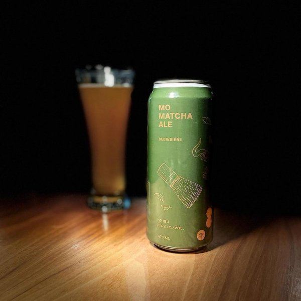 Mo Beer Company Launches in Vancouver with Mo Matcha Ale