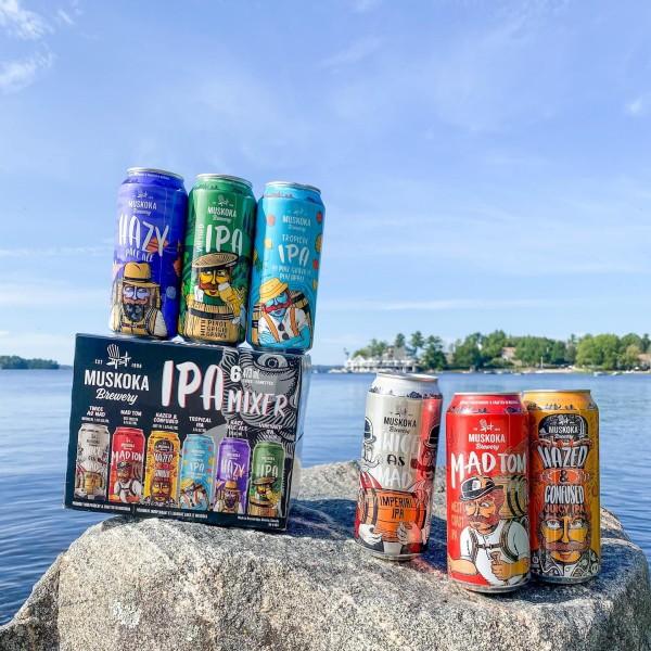 Muskoka Brewery Releases IPA Mixer Pack and Three Seasonal Beers