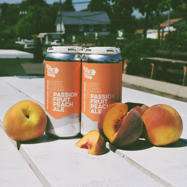 Old Yale Brewing and JAK's Liquor Stores Release Passion Fruit Peach Ale