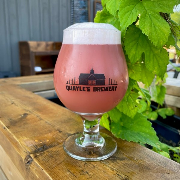 Quayle's Brewery Releases Cabin Fever Blueberry Apricot Sour