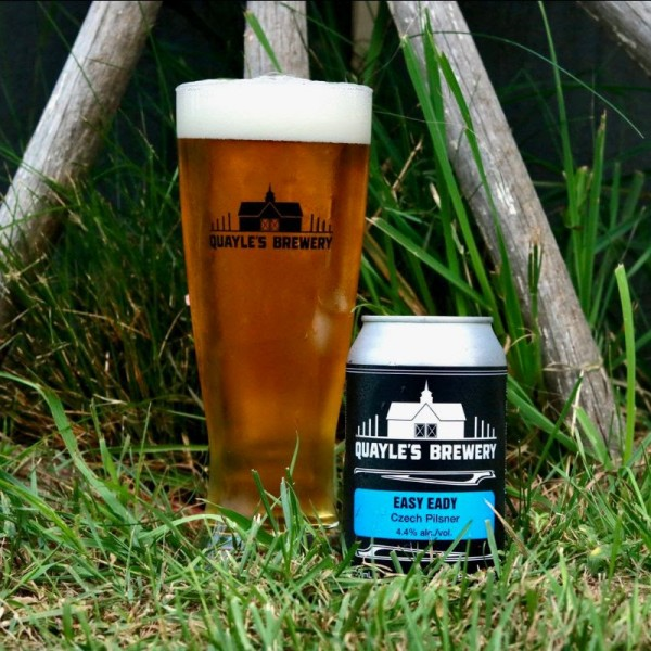 Quayle's Brewery Releases Easy Eady Czech Pilsner
