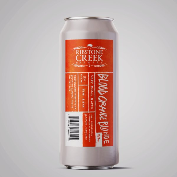 Ribstone Creek Brewery Releases Blood Orange Blonde