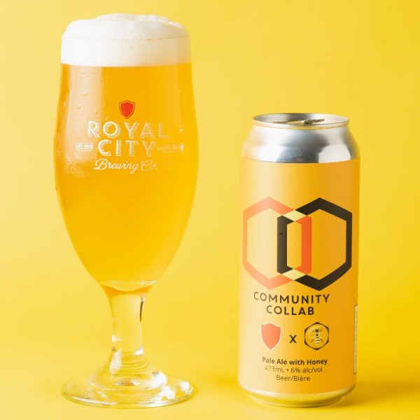 Royal City Brewing Releases Pale Ale With Honey for University of Guelph Honey Bee Research Centre
