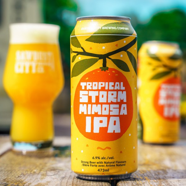 Sawdust City Brewing Releases Tropical Storm Mimosa IPA
