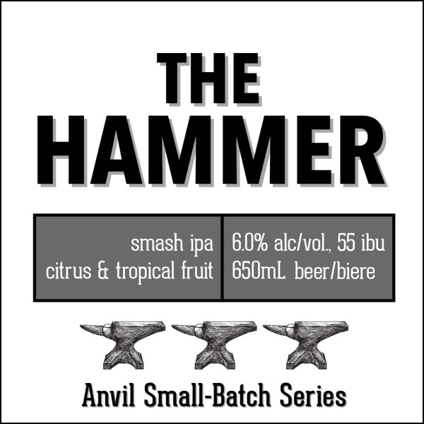 Shawn & Ed Brewing Anvil Small-Batch Series Continues with The Hammer SMASH IPA