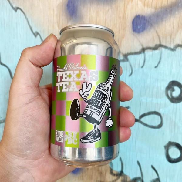 Short Finger Brewing and Sidewalk Beer Shop Release Donald Palmer's Texas Tea