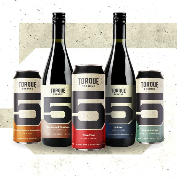 Torque Brewing Releasing Five New Beers for 5th Anniversary