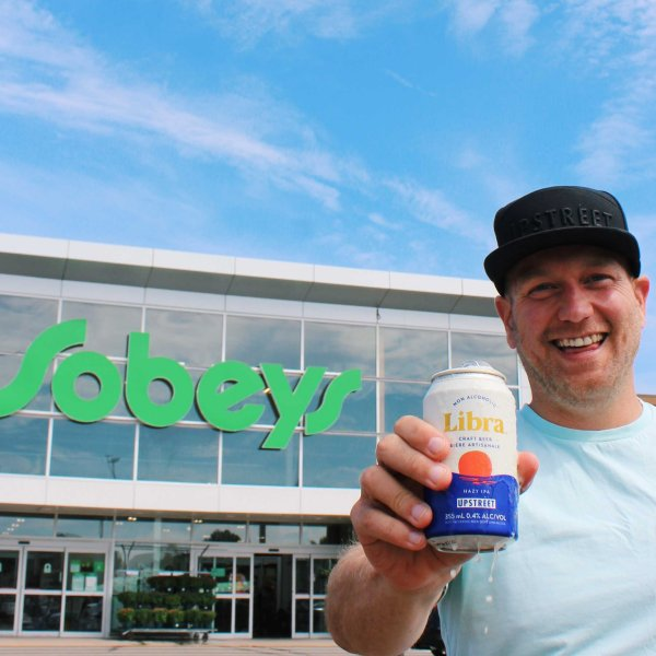 Libra Non-Alcoholic Beers from Upstreet Craft Brewing Now Available at Sobeys in Atlantic Canada