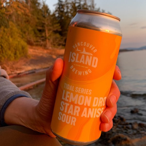 Vancouver Island Brewing Tidal Series Continues with Lemon Drop Star Anise Sour