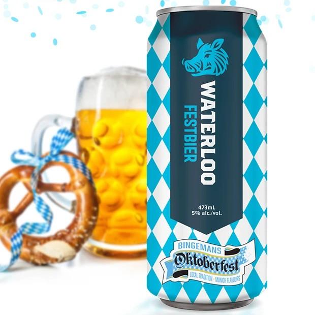 Waterloo Brewing Brings Back Festbier for Bingemans Oktoberfest 2021