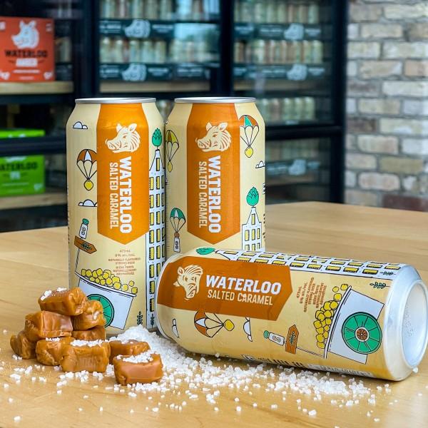 Waterloo Brewing Brings Back Salted Caramel Porter