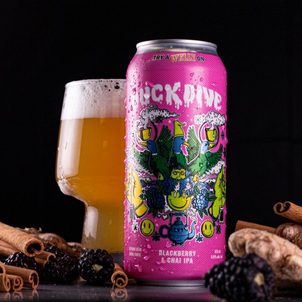 Wellington Brewery Releases Duck Dive Blackberry & Chai IPA