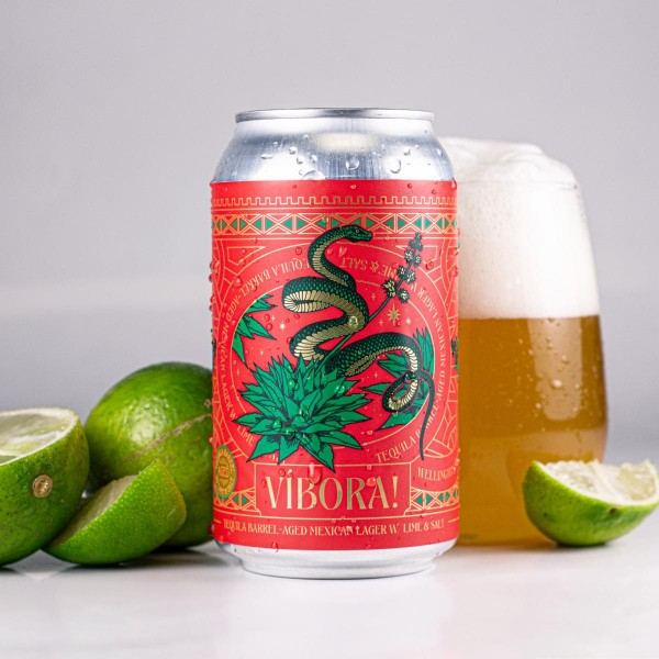Wellington Brewery Releases Víbora! Tequila Barrel-Aged Mexican Lager