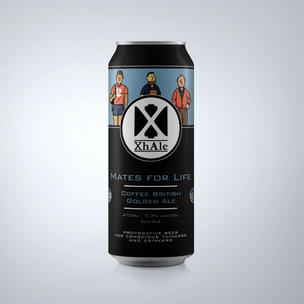 XhAle Brew Co. Releasing Mates For Life Coffee British Golden Ale for Centre for Suicide Prevention