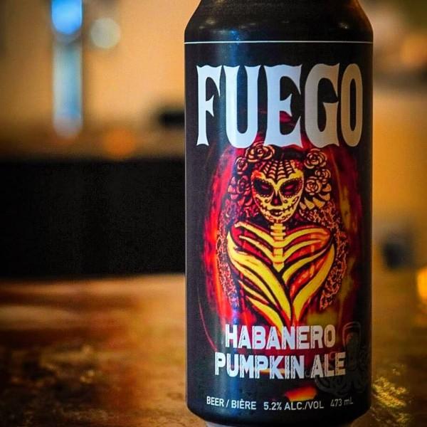 Boxing Rock Brewing Brings Back Fuego Habanero Pumpkin Ale