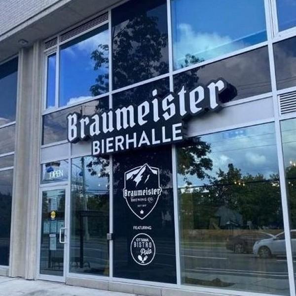 Braumeister Bierhalle Now Open in Ottawa