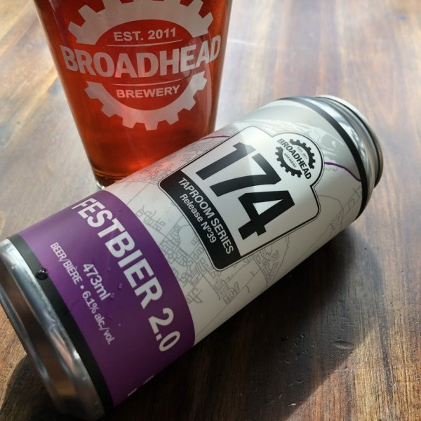 Broadhead Brewery 174 Taproom Series Continues with Festbier 2.0