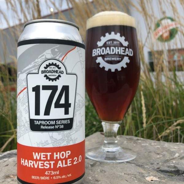 Broadhead Brewery 174 Taproom Series Continues with Wet Hop Harvest Ale 2.0