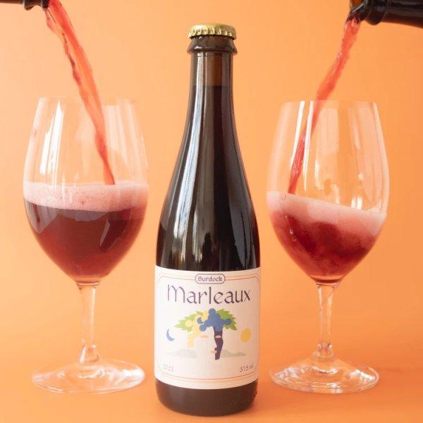 Burdock Brewery Releases Marleaux Grape Ale