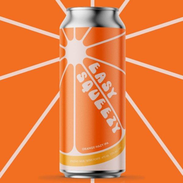 Cabin Brewing Releases Easy Squeezy Orange Hazy IPA