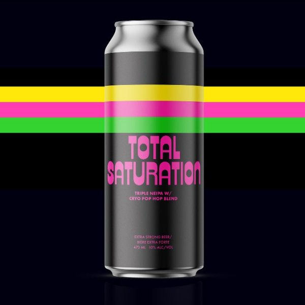 Cabin Brewing Releases Total Saturation Triple NEIPA