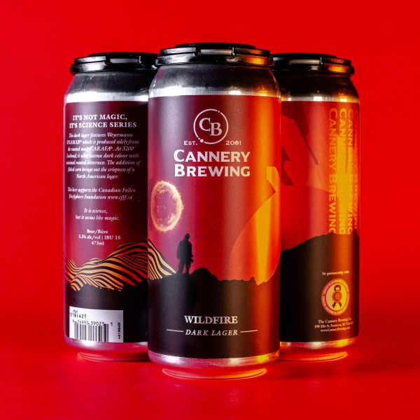 Cannery Brewing Releases Wildfire Dark Lager