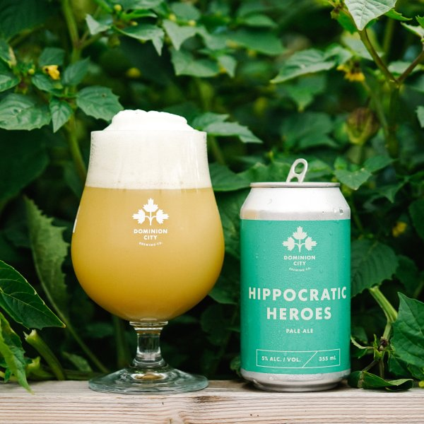 Dominion City Brewing Releases Hippocratic Heroes Pale Ale for Queensway Carleton Hospital Foundation