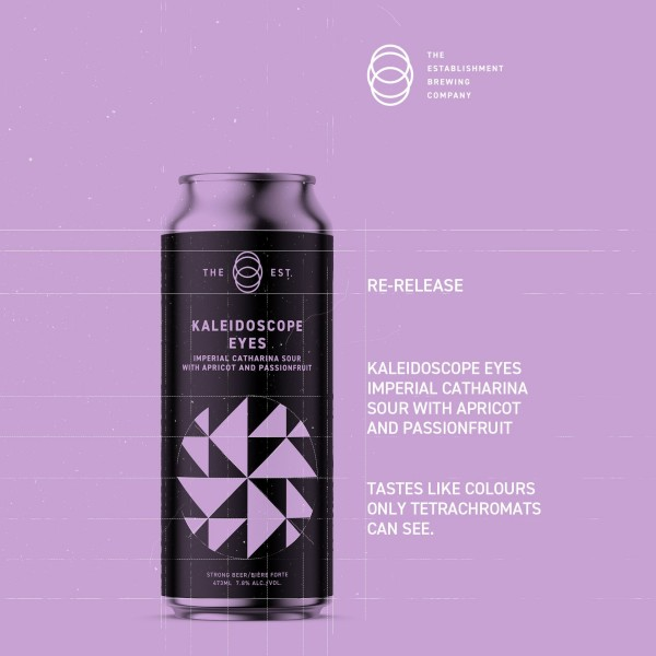 The Establishment Brewing Company Brings Back Kaleidoscope Eyes Imperial Catharina Sour