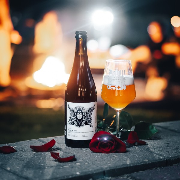 The Establishment Brewing Company Releases Ramblin' Rose Barrel-Aged Golden Sour with Rose Hips