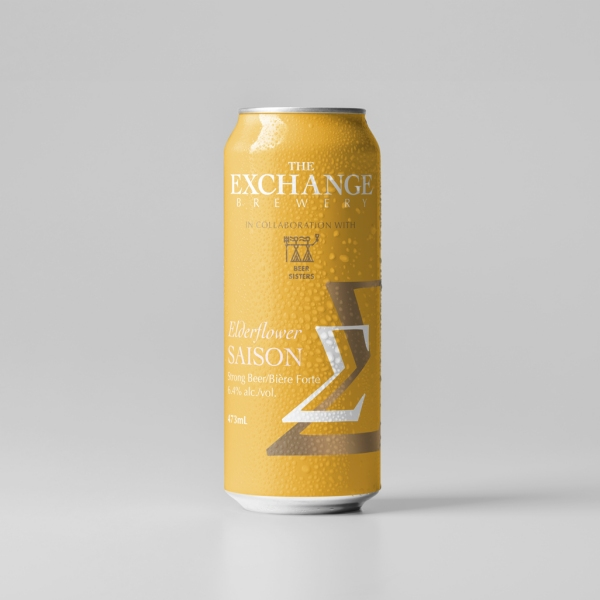The Exchange Brewery Elderflower Saison Now Available at LCBO