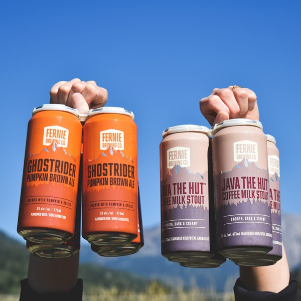 Fernie Brewing Brings Back Ghostrider Pumpkin Brown Ale and Java The Hut Coffee Milk Stout
