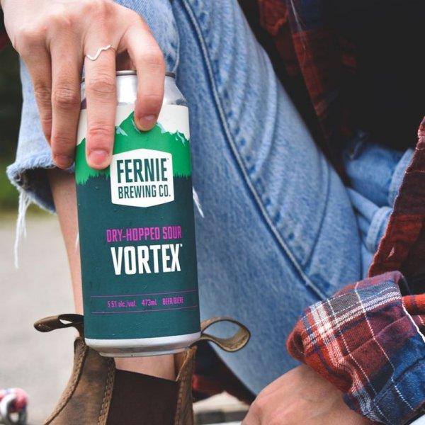 Fernie Brewing Brings Back Vortex Dry-Hopped Sour