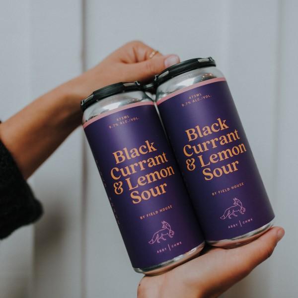 Field House Brewing Releases Black Currant & Lemon Sour