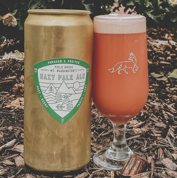 Field House Brewing and Mt. Waddingtons Outdoors Release Foraged & Fruited Hazy Pale Ale