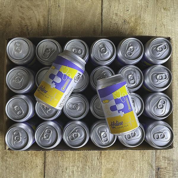 Flux Brewing Releases Lifeline Blonde Ale for Brant Community Healthcare System