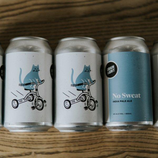 Grain & Grit Beer Co. Releases No Sweat Belgian IPA