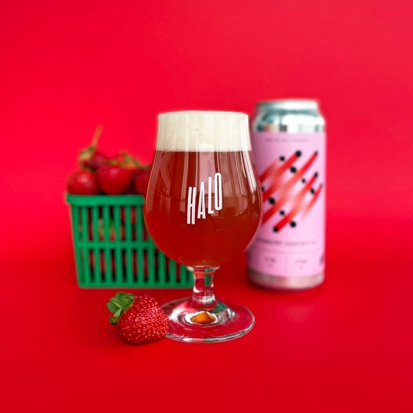 Halo Brewery Releases Strawberry Shapeshifter Sour IPA