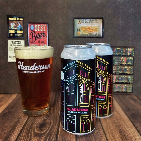 Henderson Brewing Ides Series Continues with Gladstone English Pale Ale