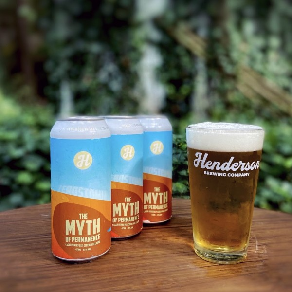 Henderson Brewing Myth of Permanence Lager Series Continues with Zerostomia Czech Lager