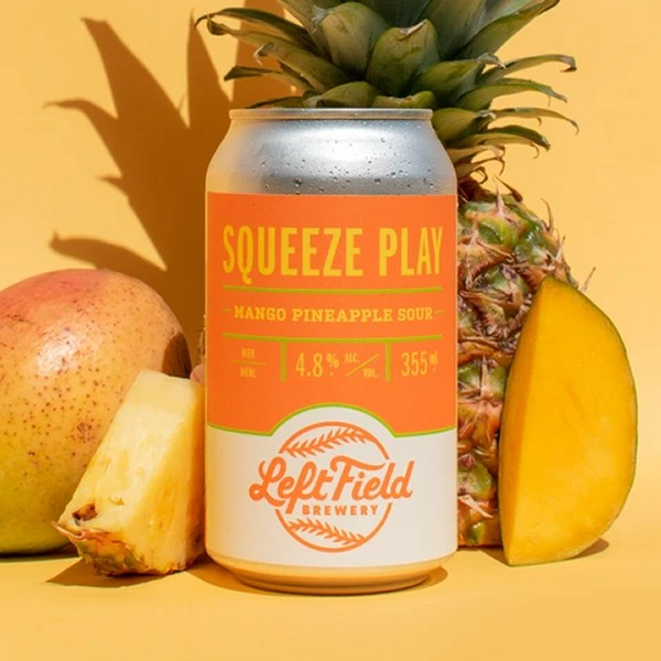 Left Field Brewery Releases Squeeze Play Mango Pineapple Sour