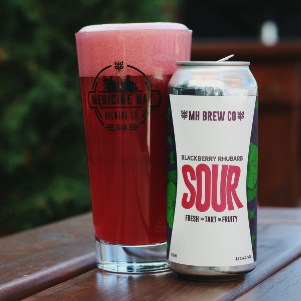 Medicine Hat Brewing Company Releases Blackberry Rhubarb Sour