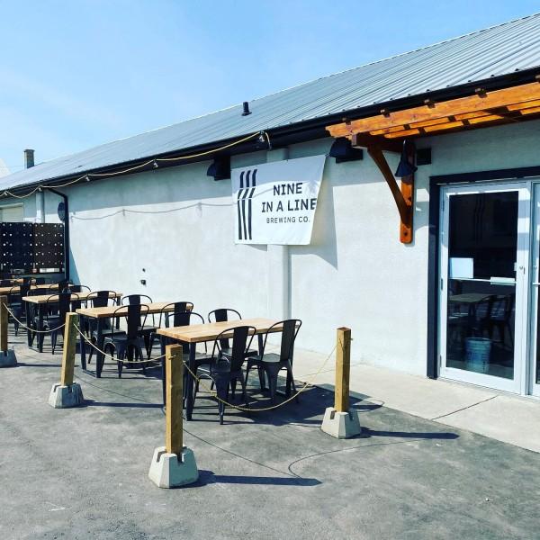 Nine In A Line Brewing Now Open in Vulcan, Alberta