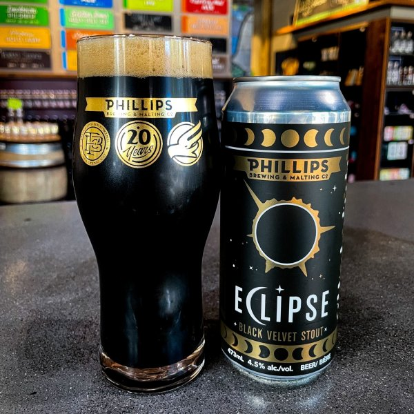 Phillips Brewing Releases Eclipse Black Velvet Stout