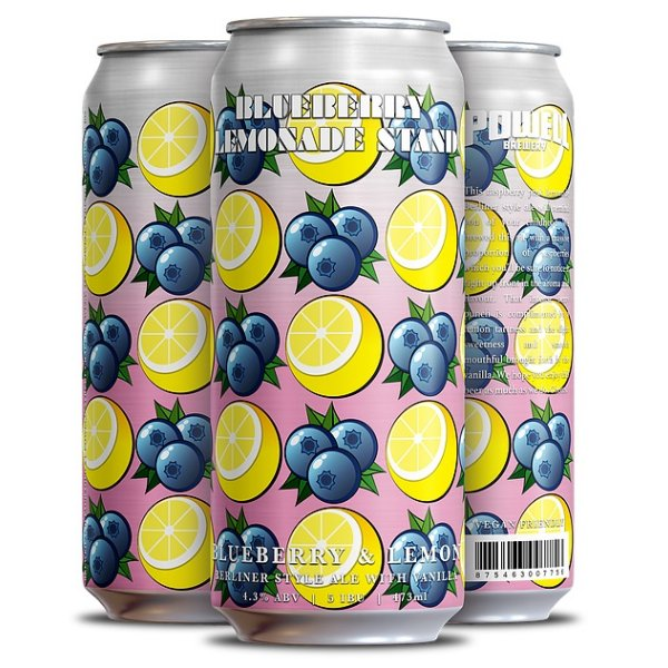 Powell Brewery Releases Blueberry Lemonade Stand Berliner Style Ale