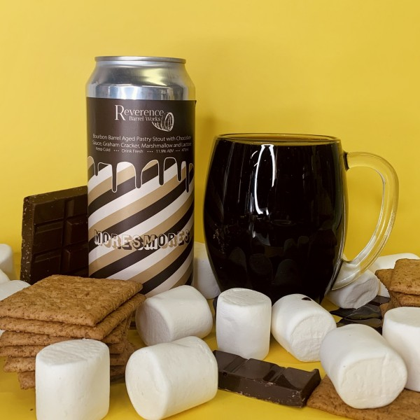 Reverence Barrel Works Releases MoreSmores Pastry Stout