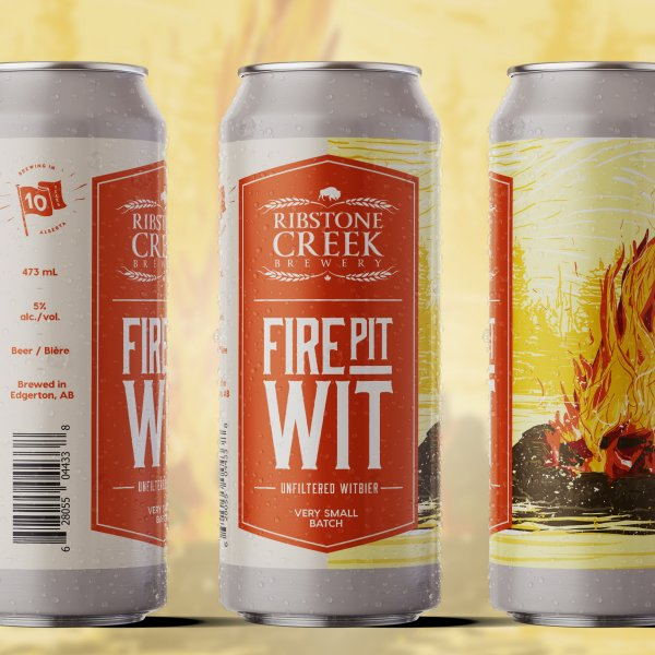 Ribstone Creek Brewery Releases Firepit Wit