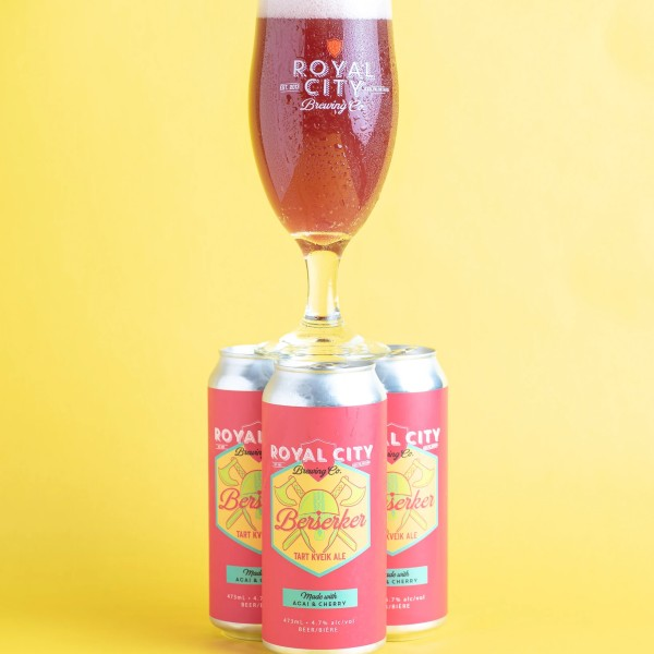 Royal City Brewing Releases Berserker Tart Kveik Ale with Acai & Cherry