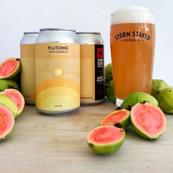 Storm Stayed Brewing and Granite Brewery Release Plutonic Golden Ale with Pink Guava