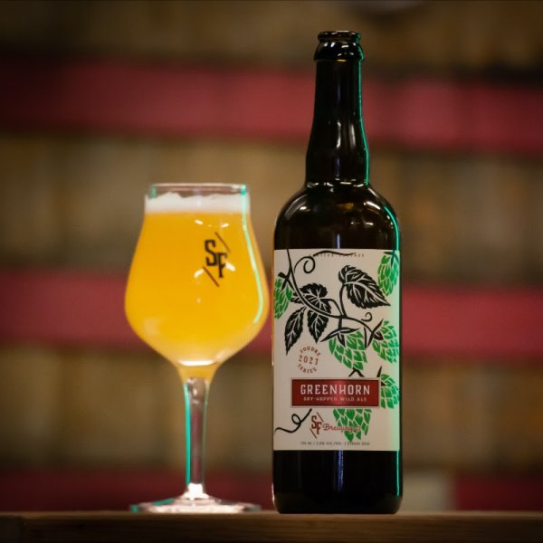 Strange Fellows Brewing Releases Greenhorn Dry-Hopped Wild Ale
